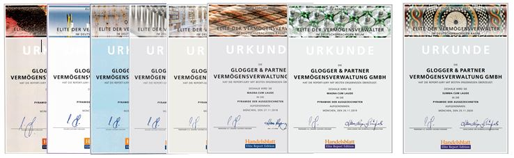Urkunden Elitereport 2014-2021